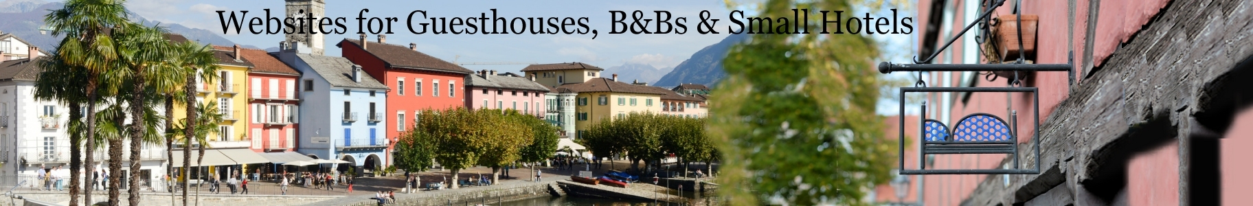 Websites with Booking System  for Guesthouses, Inns, B & Bs & Small Hotels